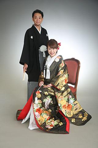 家族写真・色打掛・紋付袴
