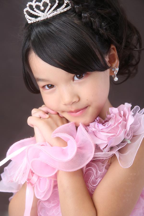 7歳ドレス・ピンク・ティアラ