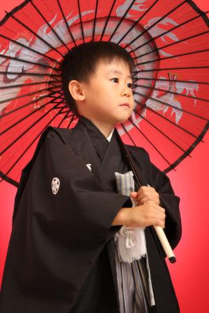 七五三・5歳袴・黒紋付