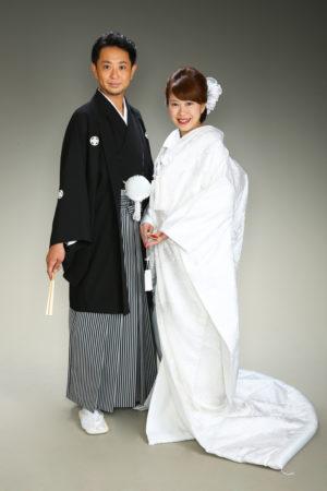 ご結婚祝い・紋付袴・白無垢・ご夫婦写真