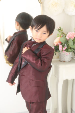 七五三・5歳・タキシード