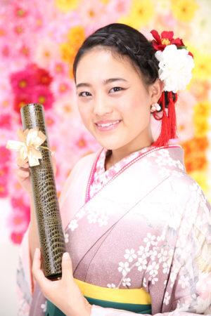 江戸川区・30年卒業式・袴・振袖