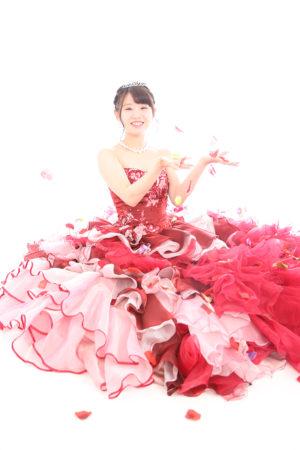 江戸川区・31年成人式・ドレス撮影