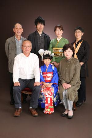 江戸川区・29年家族写真・七五三・7歳