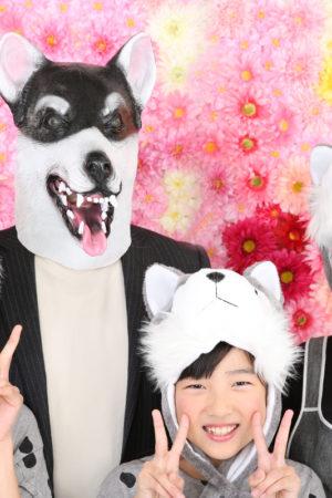 江戸川区・家族写真・2018年賀状