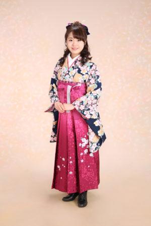 江戸川区 30年卒業袴 二尺袖