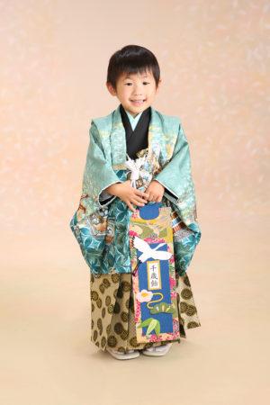 30年 江戸川区 七五三 5歳 羽織袴