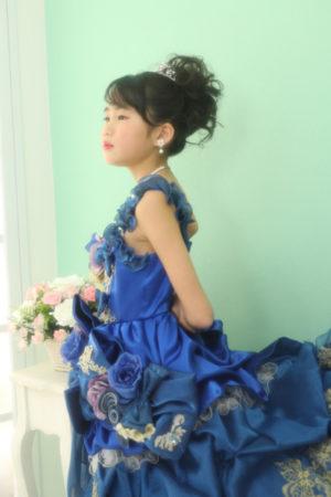 本八幡 七五三 7歳 ドレス