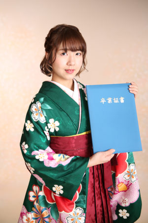 江戸川区 31年 卒業式 袴
