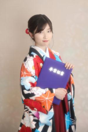 本八幡 卒業式 卒業袴