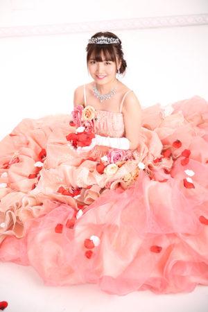 江戸川区 31年 成人式 ドレス撮影 中葛西