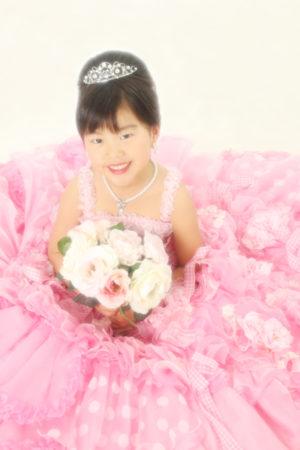 七五三 本八幡 7歳 ドレス