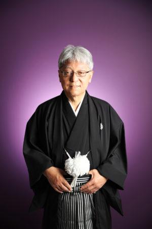 本八幡 記念写真 古希祝い 男性袴