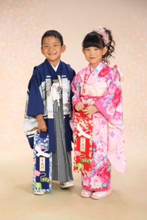 江戸川区 30年 七五三 7歳・5歳 ご姉弟撮影