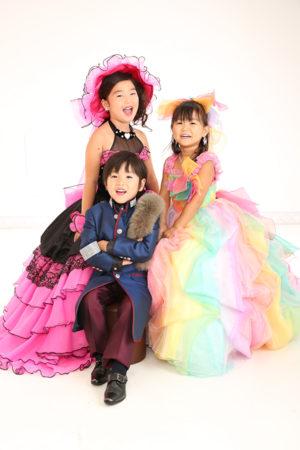 江戸川区 30年 七五三 7歳ドレス ご姉弟撮影