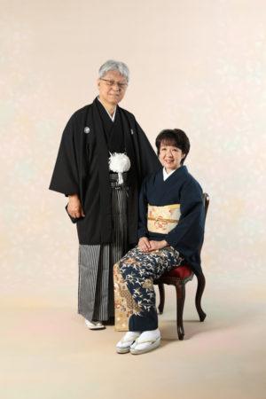 本八幡 記念写真 古希祝 夫婦写真