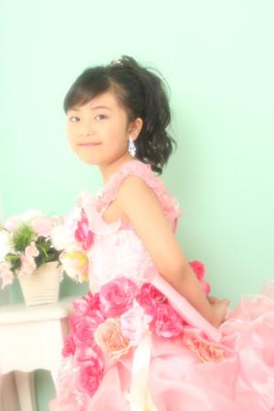本八幡 七五三 七歳 前撮り ドレス