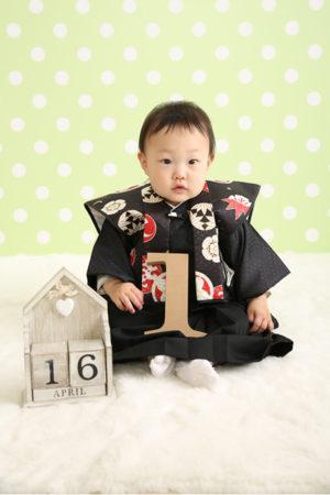 平成31年・1歳バースデー・お誕生日撮影・着物