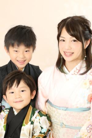 本八幡 市川市 七五三 5歳 前撮り 家族写真 袴