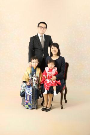 本八幡 市川市 七五三 5歳 家族写真 前撮り