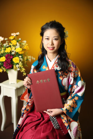 本八幡 市川市 卒業袴 前撮り 卒業式