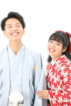 本八幡 市川市 卒業袴 卒業式 男性袴 成人式 二十歳 家族写真 姉弟写真 記念写真