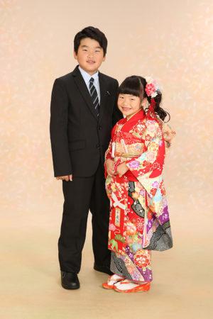 江戸川区 七五三 7歳 前撮り ご兄妹