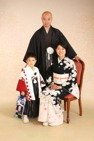江戸川区 七五三 5歳 前撮り ご家族写真
