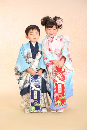 江戸川区 七五三 5歳 7歳 前撮り ご姉弟