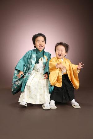 江戸川区 七五三 5歳 前撮り ご兄弟