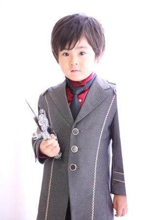 江戸川区 七五三 5歳 前撮り タキシード