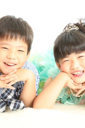 本八幡 市川市 七五三 七歳 前撮り 家族写真 記念写真 兄弟写真 姉弟写真