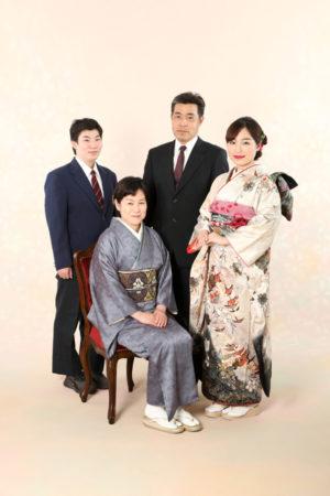 本八幡 市川市 成人式 振袖 前撮り 家族写真 記念写真