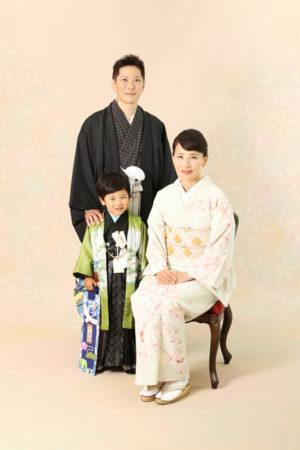 本八幡 市川市 七五三 五歳 前撮り 家族写真 記念写真