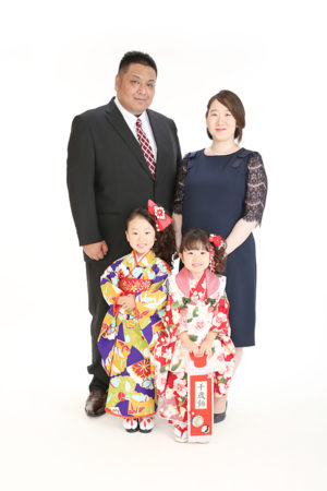 江戸川区 七五三 前撮り 3歳 ご家族撮影