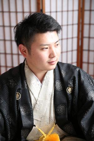 江戸川区 令和2年 成人式 男性羽織袴