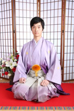 江戸川区 令和2年 成人式 男性袴