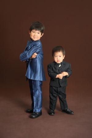 本八幡 市川市 七五三 5歳 前撮り タキシード 兄弟