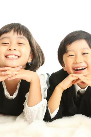 本八幡 市川市 七五三 前撮り 5歳 記念写真 姉弟 家族写真 タキシード