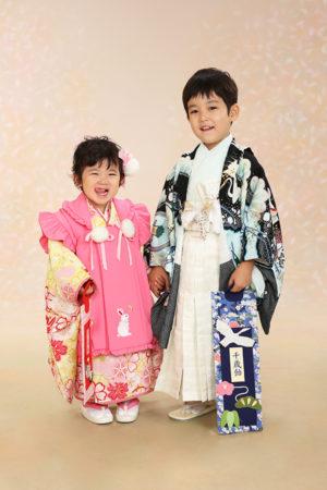 江戸川区・令和2年・七五三・3歳・5歳・前撮り・ご兄妹