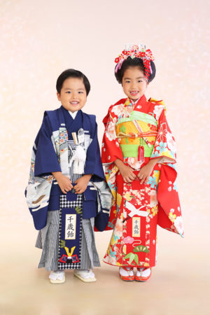 江戸川区・令和2年・七五三・7歳・5歳・前撮り・ご姉弟