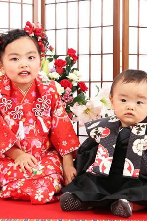 江戸川区・令和2年・七五三・3歳・1歳・前撮り・ご姉弟