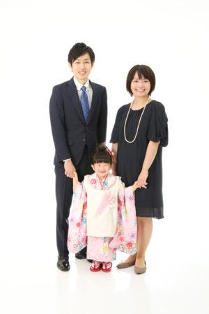 本八幡 市川市 七五三 3歳 前撮り 家族写真 記念写真