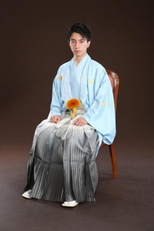 江戸川区・令和3年・成人式・男性羽織袴・20歳・前撮り