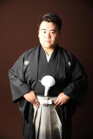 本八幡 市川市 成人式 二十歳 男性袴 黒紋付 前撮り