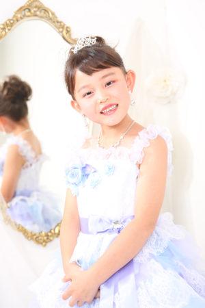 令和2年 江戸川区 七五三 7歳 ドレス