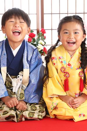 令和2年 江戸川区 七五三 3歳 兄妹撮影