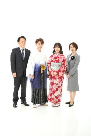 本八幡 市川市 成人式 男性袴 前撮り 家族写真 記念写真 二十歳