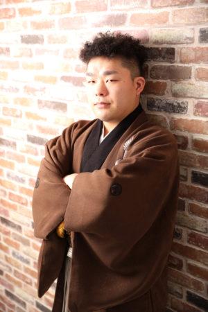 本八幡 市川市 成人式 男性袴 二十歳 後撮り