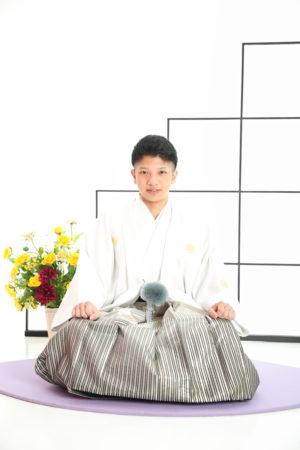 本八幡 市川市 成人式 二十歳 男性袴 前撮り 羽織袴